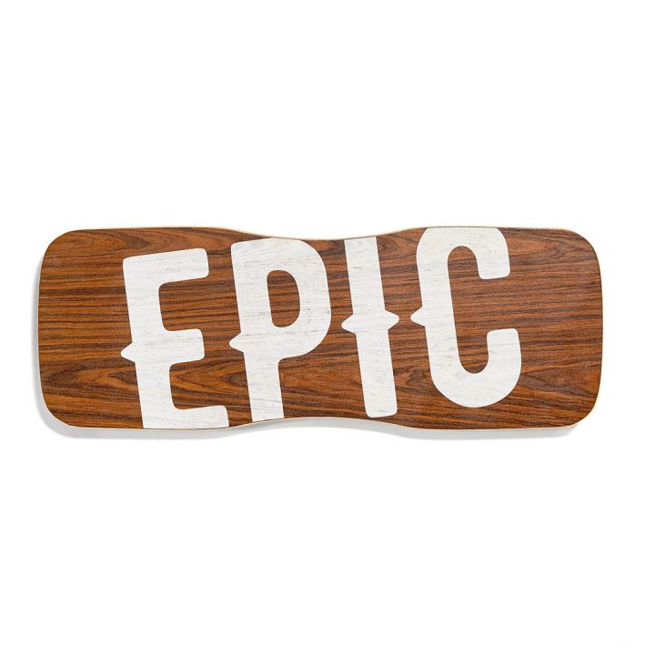 Epic Balance Boards - Wood Series Blow top