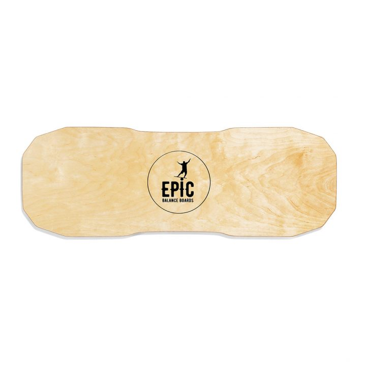 Epic Balance Boards - Wood Series Dark Oak bottom