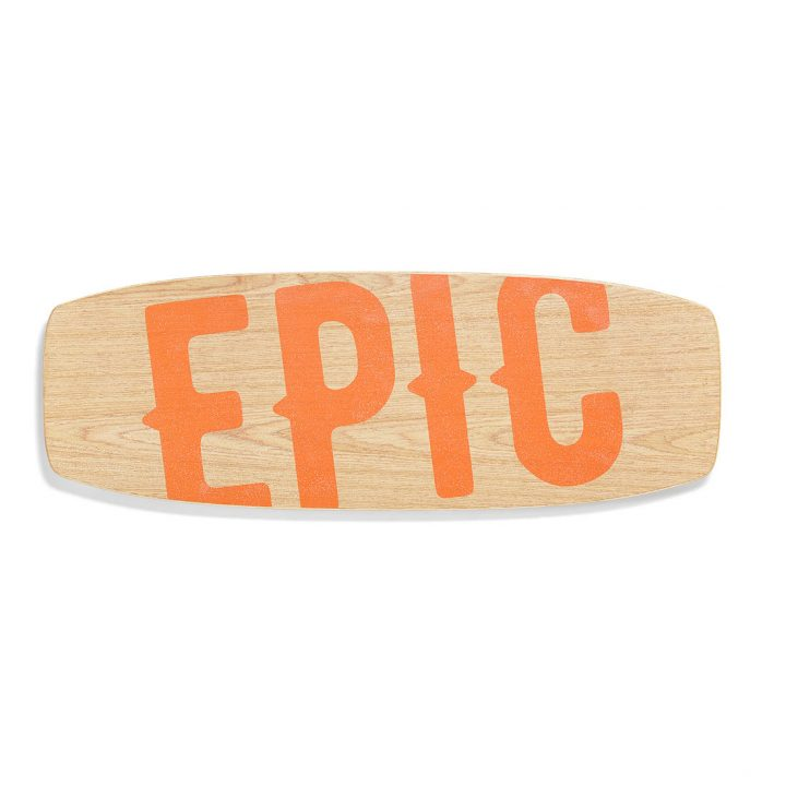 Epic Balance Boards - Wood Series Juicy top