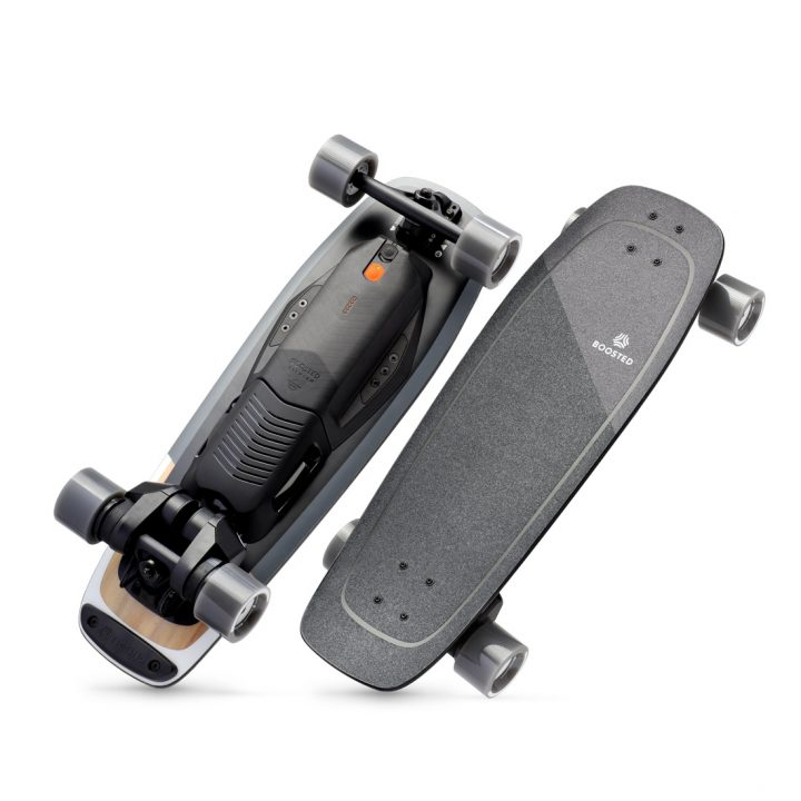 Boosted Boards Mini-X side by side