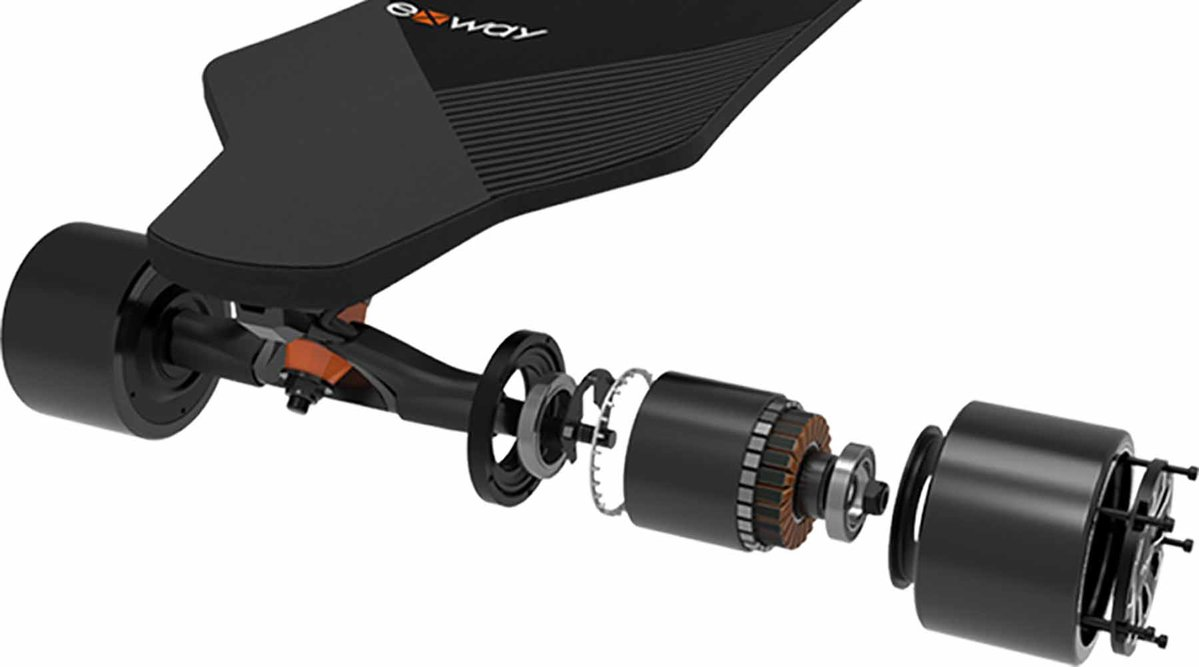 Boardlife Exway X1 Pro Electric Skateboard Most Powerful Motors