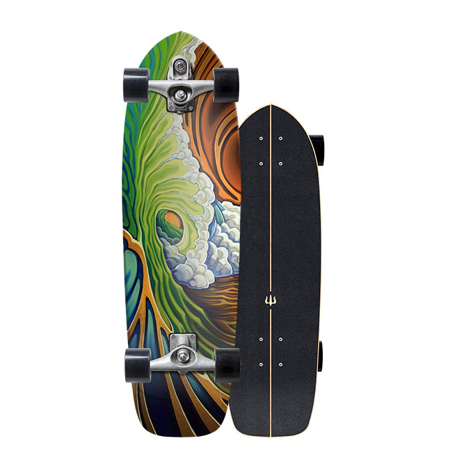 Carver Skateboards Green Room C7 surf skate