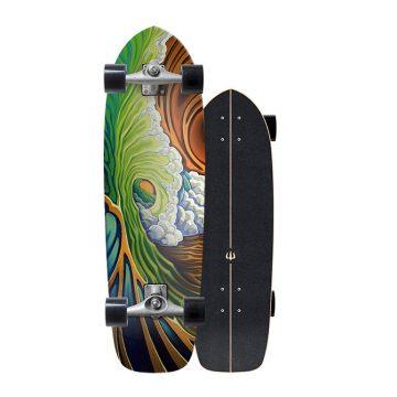 Carver Skateboards Green Room CX surf skate