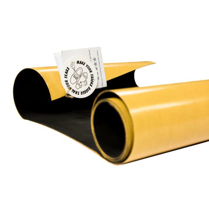 Creamgrip non-abrasive skateboard griptape