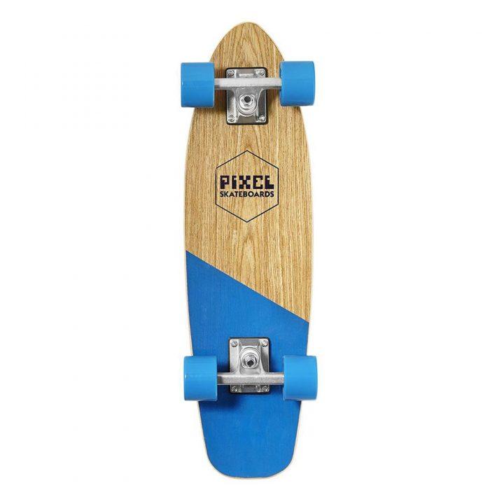 pixel woody blue