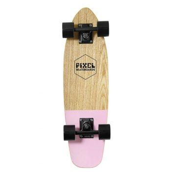 pixel woody pink