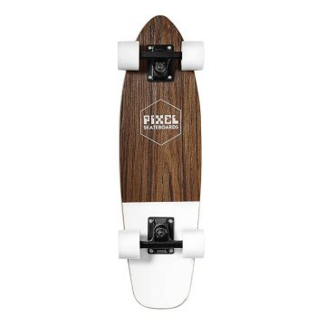 pixel woody white