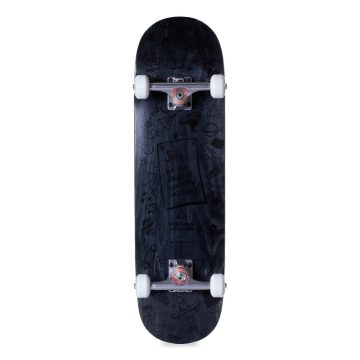 Heartwood Skateboards Artless Series komplett skateboard - Svart bunn