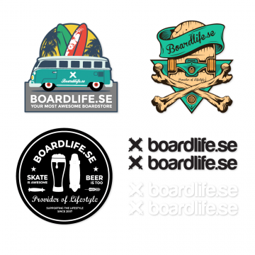Boardlife Sticker Pack 2019