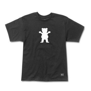 Grizzly Bear Logo Tee Svart