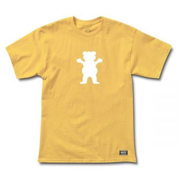 Grizzly Bear Logo Tee Squash