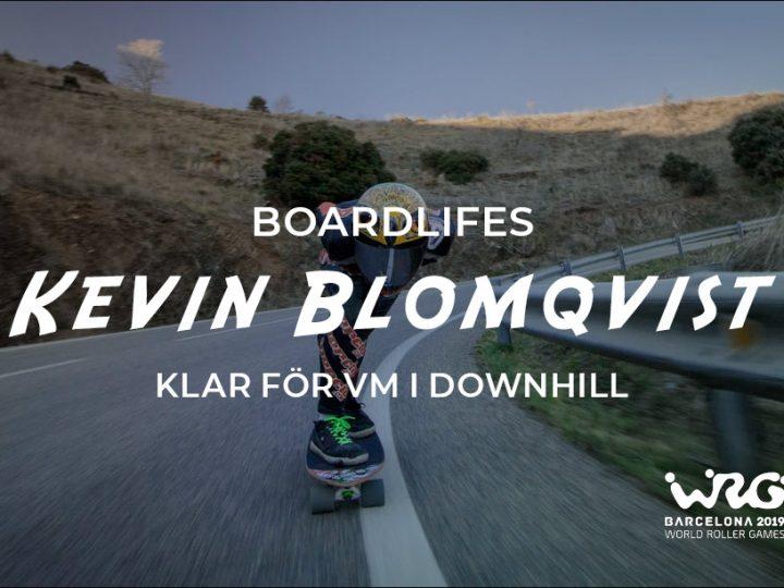 Boardlifes teamåkare Kevin Blomqvist klar för VM