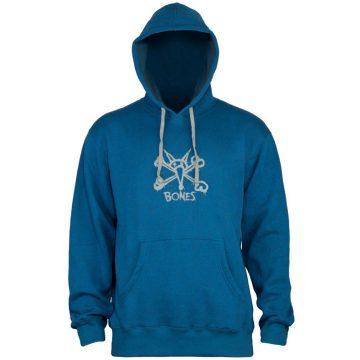 bones vato hoodie blue