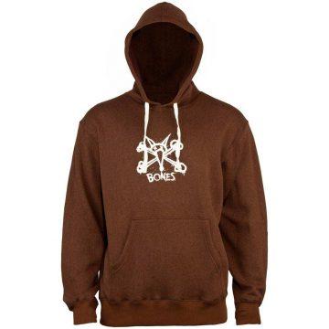 bones vato hoodie brown