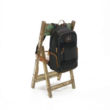 miller backpack real black