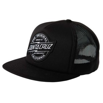 santa cruz working cap black