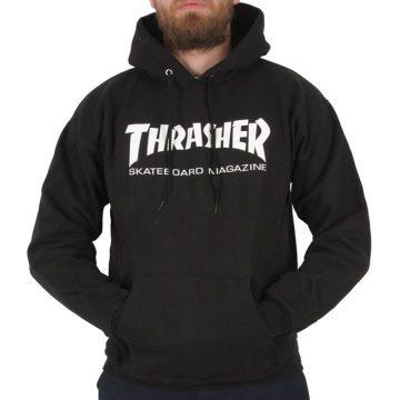 thrasher skate mag hoodie black modell