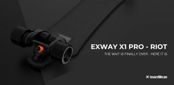 exway x1 pro riot boardlife