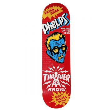 Pocket Pistols - Jake Phelps Thrasher Radio skateboard 8.5""