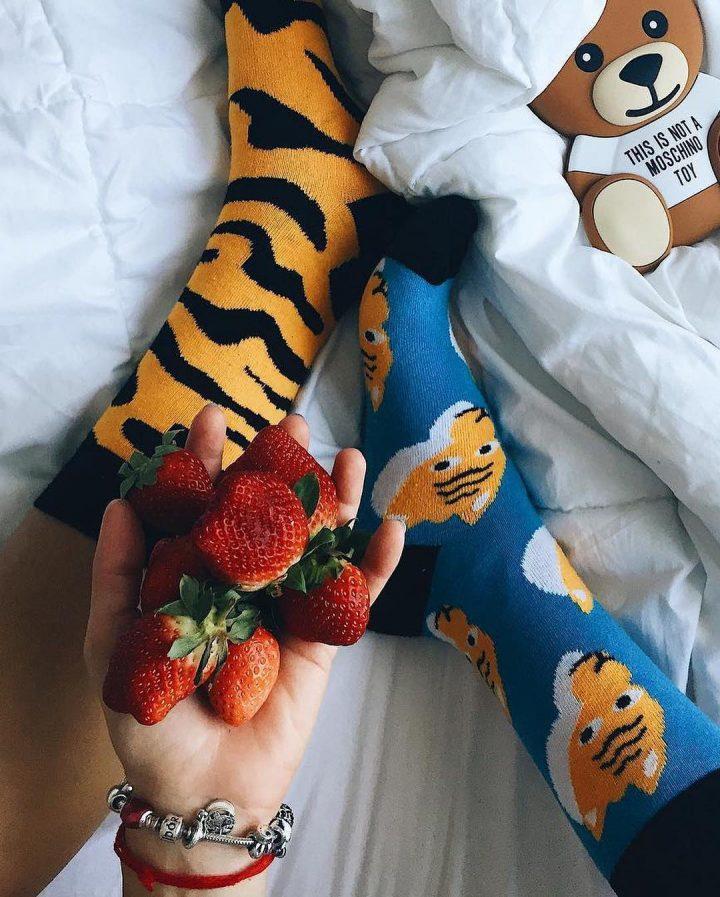 Sammy Icon - Benghali tiger socks