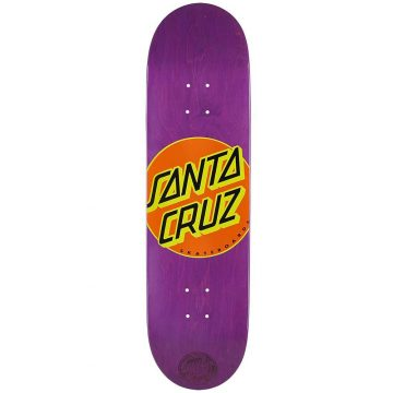 Santa Cruz skateboard Classic Dot Purple 8.5