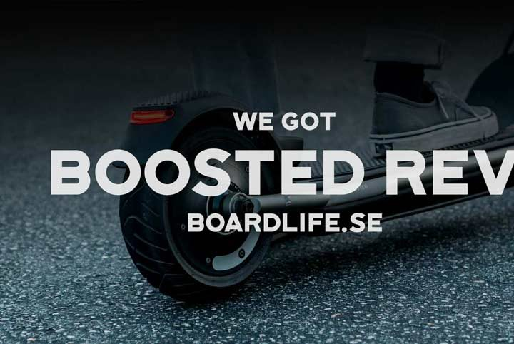 Boosted Rev has arrived – Den omtalade elektriska scootern