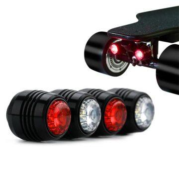 koowheel lights mounted