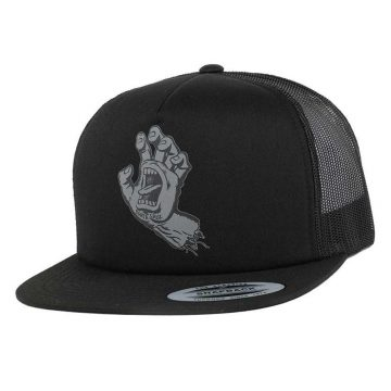santa cruz working cap screaming hand