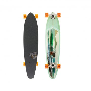 Sector 9 - Green Machine retro longboard