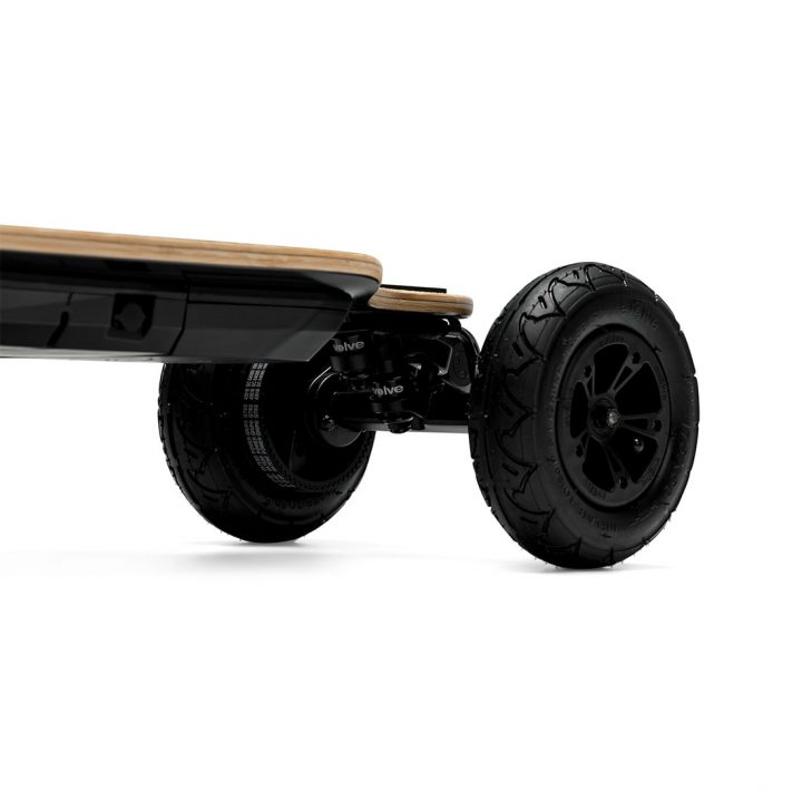 Evolve GTR Bamboo All Terrain wheels side