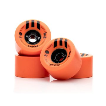 Evolve Skateboards 97mm 76a Orange