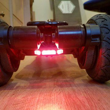 Serfas - Thunderbolt rear red light example