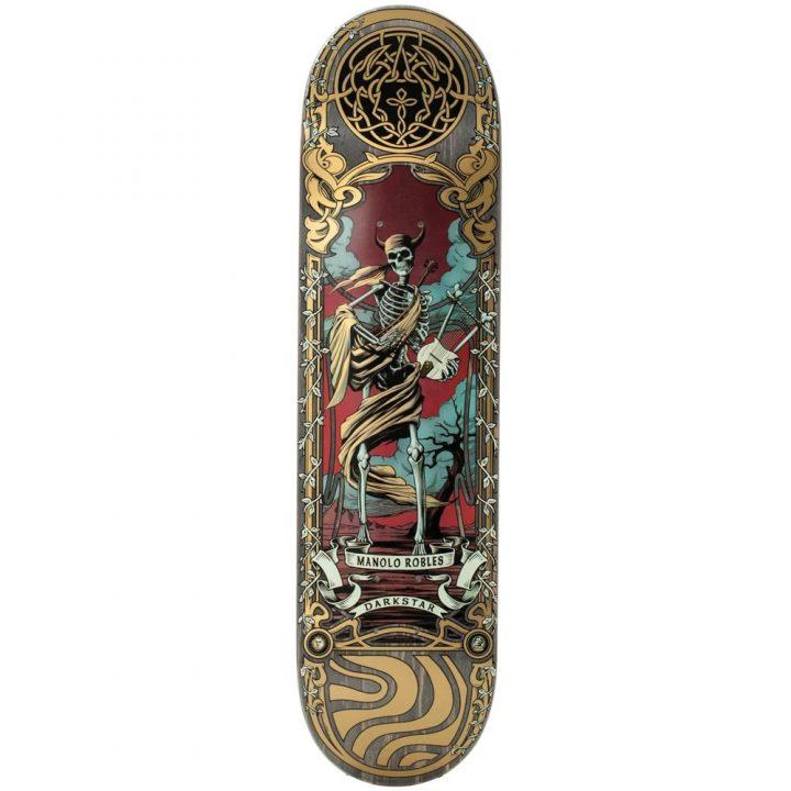 "Darkstar skateboard deck celtic Manolo 8.0"""