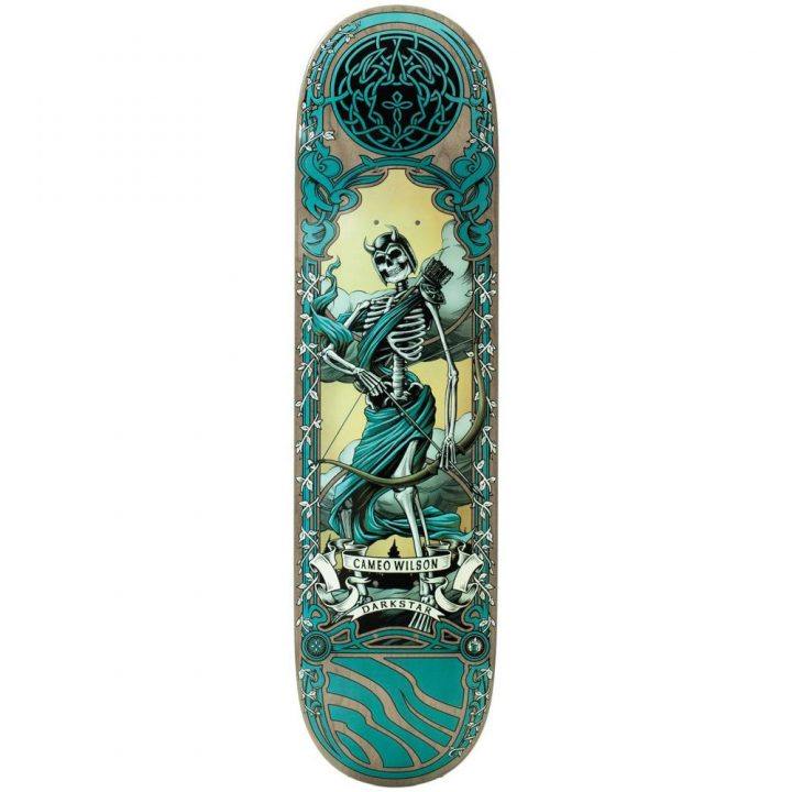Darkstar skateboard deck celtic Wilson 8.125""