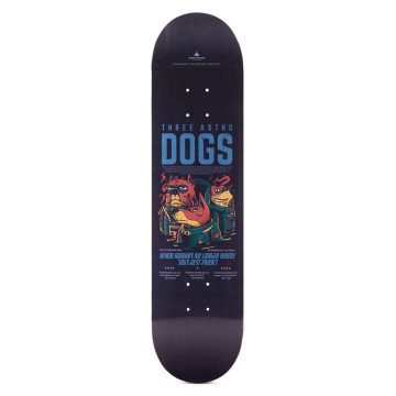 "Heartwood Skateboards - Astro Dogs 7.75"" deck"