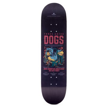 "Heartwood Skateboards - Astro Dogs 8.0 ""dekk"