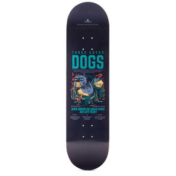 "Heartwood Skateboards - Astro Dogs 8.25 ""dekk"