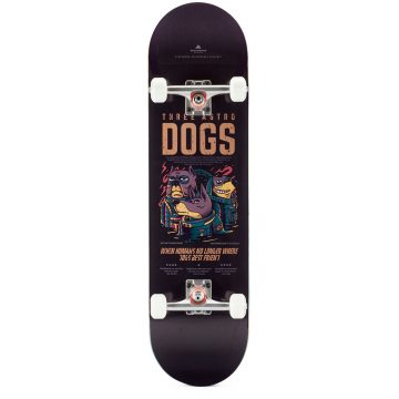 "Heartwood Skateboards - Astro Dogs 8.5 ""complete"