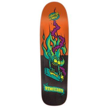 "Santa Cruz Remillard lit AF skateboard deck 8.8"""