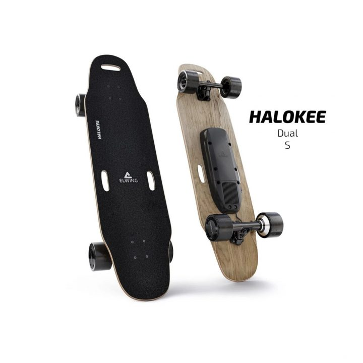 Elwing electric skateboard Halokee Powerkit_Sport dual drive standard battery