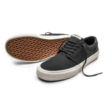 Straye Fairfax Black & Bone Skate Shoes