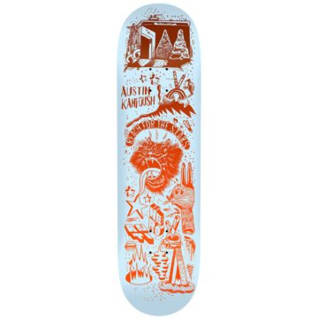 "Antihero Kanfoush Reach for the Stars 8.25"" deck only"