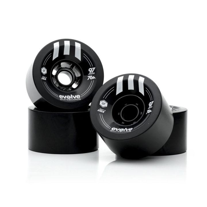Evolve Skateboards 97mm 76a black