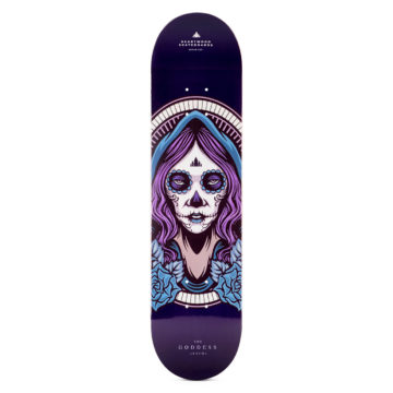 "Heartwood Skateboards Goddess - Akycha 7.75"" deck"