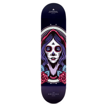 "Heartwood Skateboards Goddess - Beiwe 8.0"" deck"