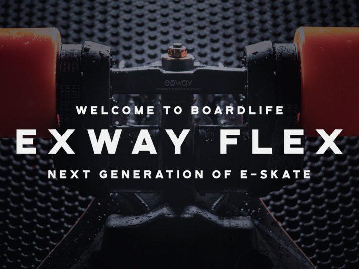 Ny generation E-skate från Exway