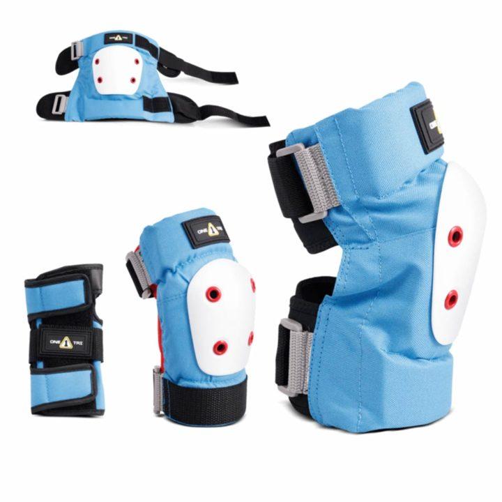 1TRI Jr Knee Blue Combo protection