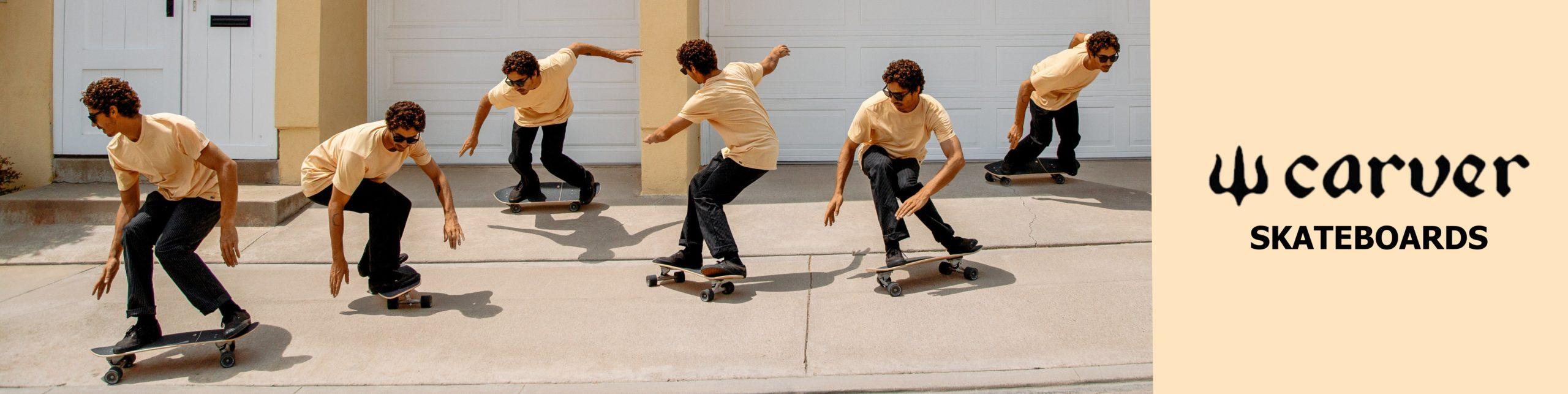 Carver Skateboards Banner