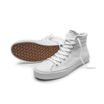 Straye Venice white skate shoe