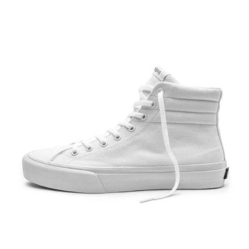Straye Venice white skate shoe side view